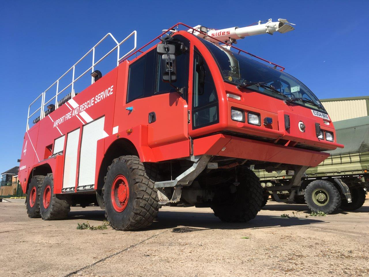 Now available a Sides 6x6 VMA112 airport crash tender