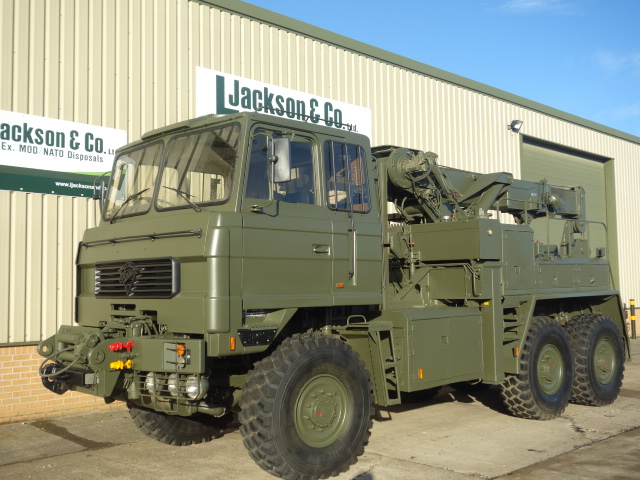 Foden 6x6 RHD recovery truck fitted with EKA recovery