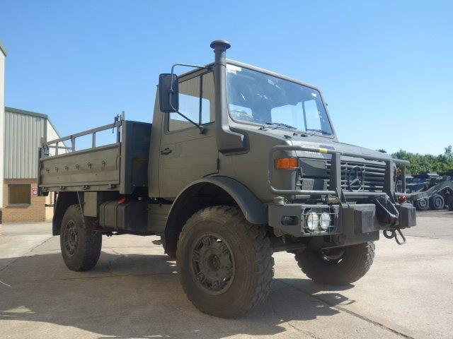 Just arrived a batch of Ex Military Mercedes Unimog U1300L RHD trucks