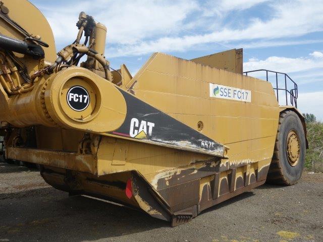 Was sold Caterpillar 657E Motor Scraper
