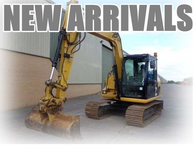 Just arrived Caterpillar 307D excavator