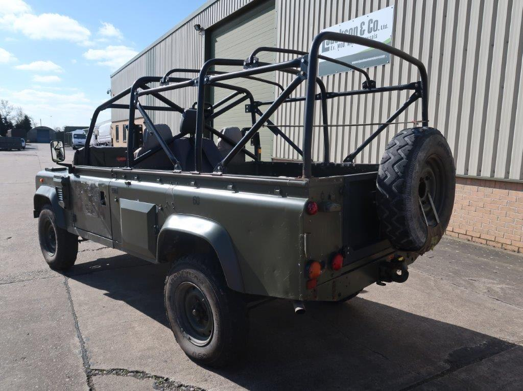 Land Rover Defender Wolf 110 Scout 4x4 vehicle