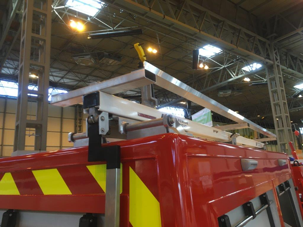 New version BV206 Fire Chief unveiled at the NEC - Emergency Services Show