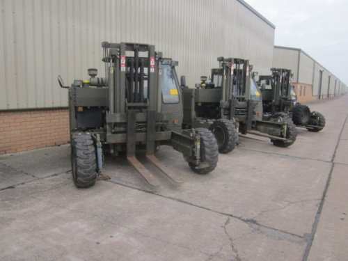 3 Moffett Mounty M2275 military forklift *DON`T MISS OUT!*