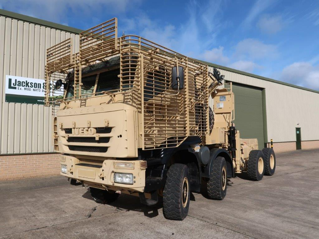 Just come Iveco Trakker 8x8 with Armoured Cab