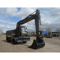 Was sold Ex Military Caterpillar 318M Wheeled Excavator