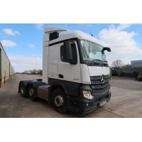 Just come 20 Mercedes Actros 2543 6x2 Tractors