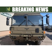 Large Surplus Military stock of  UNUSED MAN HX60 trucks
