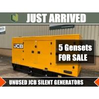 JUST ARRIVED 6 NEW JCB silent gensets