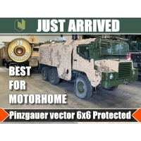 20 x Pinzgauer Vector 718 6x6 Armoured Patrol Vehicles