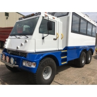 ICE 6 feeder bus based on the MOWAG Duro II 6x6