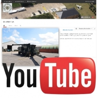 Watch our latest video on YouTube of the Volumetric batching mixer