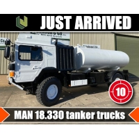 Just arrived 10 MAN 4x4  Tanker Trucks