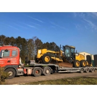 Was sold  Caterpillar 140M motor grader