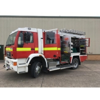 Just arrived  M.A.N rescue tender
