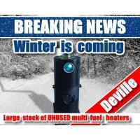Large Surplus Military stock of UNUSED multi-fuel heaters