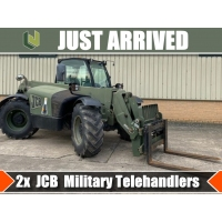 Just arrived  2 x JCB military Telehandlers