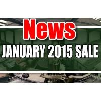 MOD/ NATO Disposals | JANUARY 2015 SALE