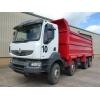 Choice of 2 Renault Kerax 440 DXi 8x4 tipper trucks