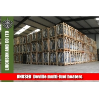 Large Surplus Military stock of UNUSED  Deville multi-fuel heaters