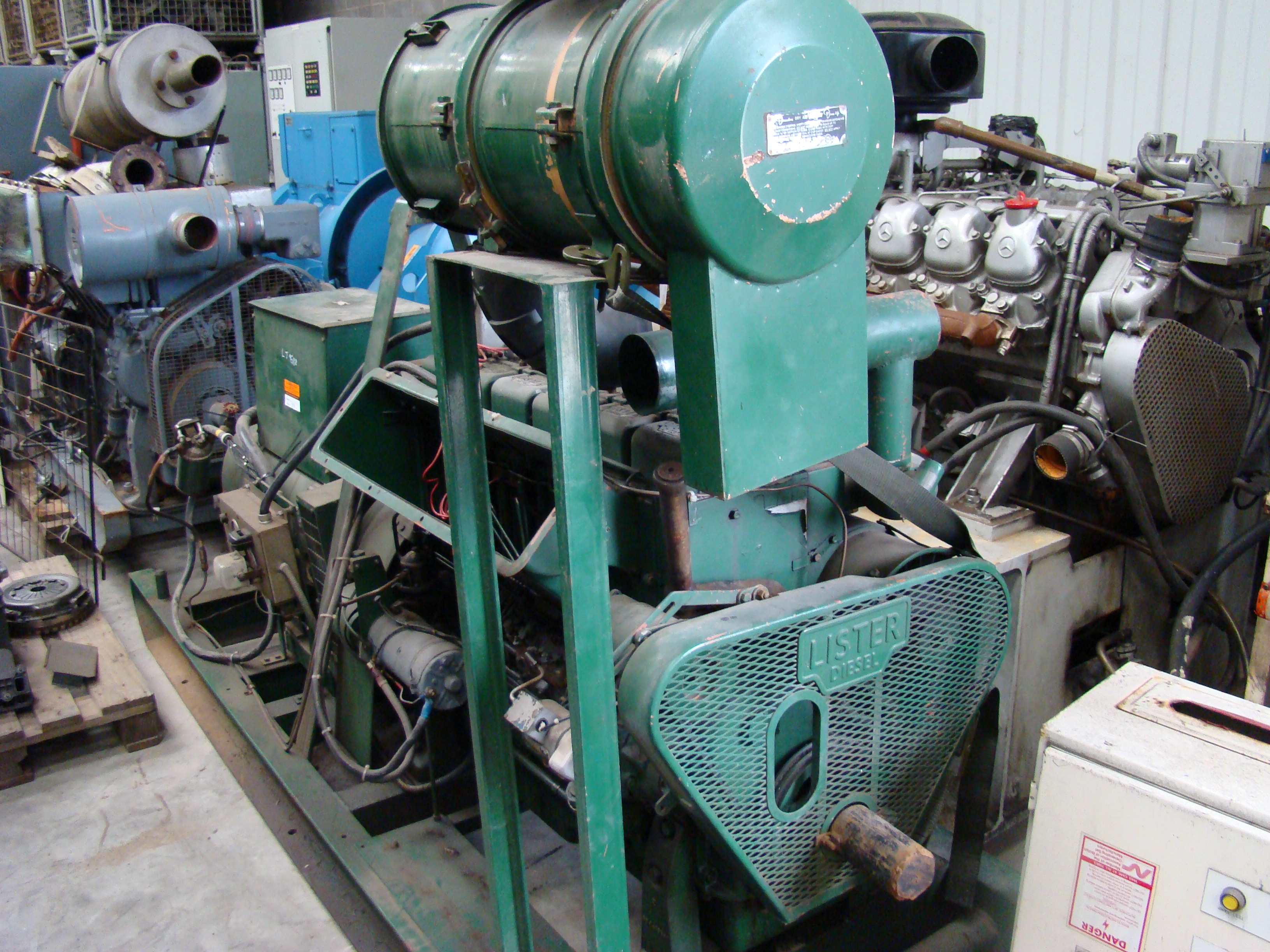 Was sold the Lister 50 KVA skid mounted diesel generator