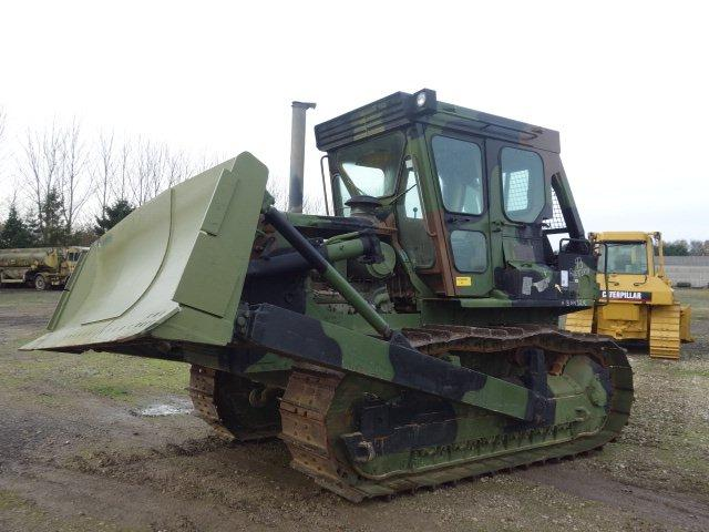 Were sold 2x Caterpillar D7G dozers | Used ex military Bedford