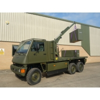 Mowag Duro II 6x6 LHD crane trucks for sale