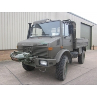 Mercedes unimog U1300L PTO winch truck 4x4 for sale