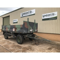 Schmitz 2 Axle Draw Bar Cargo Trailer for sale