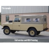 Land Rover Series III 109 -LHD LWB soft tops (diesel) for sale