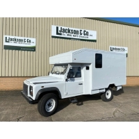 Unused Land Rover Defender 130 RHD Box Vehicle
