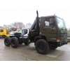 Volvo FL12 6x6 tractor unit with crane Hiab 115-1  military for sale