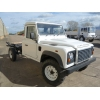 New Land Rover 130 RHD chassis cab  for sale. Military MAN trucks