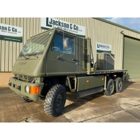 Mowag Duro II 6x6 cargo crane  truck for sale