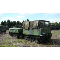 Hagglunds BV206  soft top with ammo body for sale