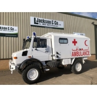 Mercedes Unimog U1300L 4x4 Ambulance for sale