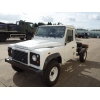 Land rover 130 LHD chassis cabs | military vehicles, MOD surplus for export