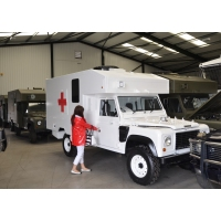 Land Rover 130 Defender Wolf RHD Ambulance for sale in Africa