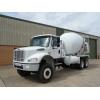 Freightliner 6x6 concrete mixer truck for sale