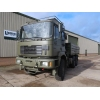 Man 27.314 6x6 LHD Drop side cargo truck with crane for sale