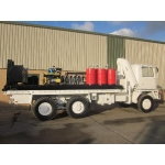 Bedford TM 6x6 service truck with de mountable body  for sale Military MAN trucks