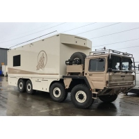 MAN Cat  A1 8X8 off road motorhome for sale