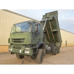 Iveco trakker 6x6 RHD tippers truck  for sale