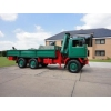 Bedford TM 6x6 Drop Side Cargo Truck with Atlas Crane   ex military for sale