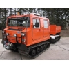 Hagglund BV206 dumper multilift  for sale. Military MAN trucks