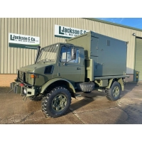 Mercedes Unimog U1300L 4x4 RHD Box Vehicle for sale in Africa