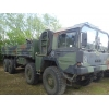 MAN 464 8x8 Drop Side Cargo Truck with  Atlas crane for sale