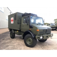 Mercedes Benz Unimog U1300L 4x4 Medical Ambulance for sale in Africa
