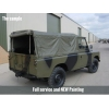 Land Rover Series III 109 -LHD LWB soft tops (Petrol) for sale