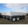 Schmitz tri axle draw bar trailer  military for sale